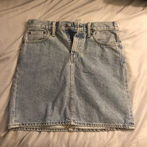 Levi Strauss Light Blue Denim Skirt